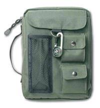 Compass Olive Green Large Book & Bible Cover