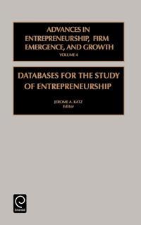 Databases for the Study of Entrepreneurship