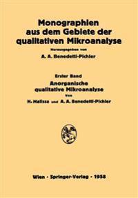Anorganische Qualitative Mikroanalyse