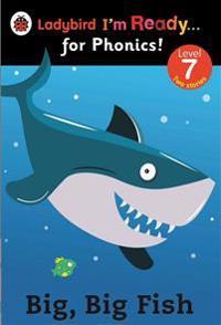 Big, Big Fish: Ladybird I'm Ready for Phonics Level 7