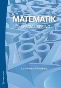 Matematik - - specialisering