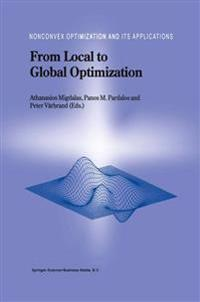 From Local to Global Optimization