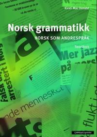 Norsk grammatikk; norsk som andrespråk