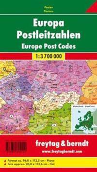 Europe Postcode Map