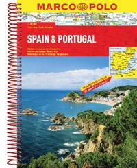 Spain / Portugal Marco Polo Road Atlas