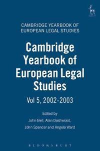 Cambridge Yearbook of European Legal Studies, 2002-2003