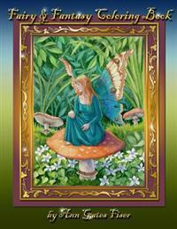 Fairy & Fantasy Coloring Book