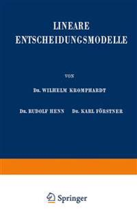 Lineare Entscheidungsmodelle