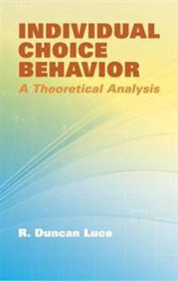 Individual Choice Behavior
