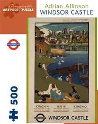 Windsor Castle 500-Piece Jigsaw Puzzle Aa715