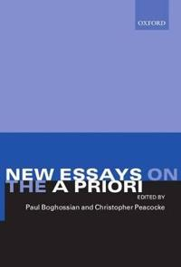 New Essays on the A Priori