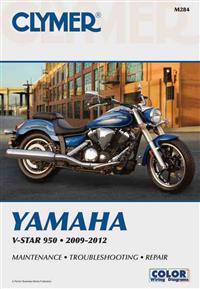 Clymer Yamaha V-Star 950, 2009-2012