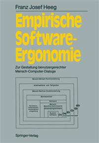 Empirische Software-Ergonomie