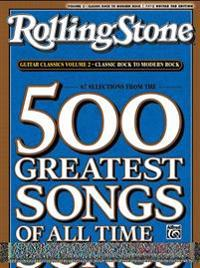 RollingStone guitar classics, volume 2: Classic Rock to Modern Rock