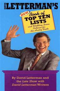 David Letterman's New Book of Top Ten Lists: And Wedding Dress Patterns for the Husky Bride