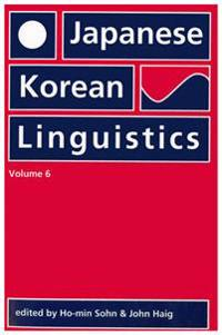 Japanese/Korean Linguistics