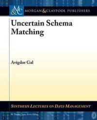 Uncertain Schema Matching