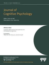 Cognition and Emotion