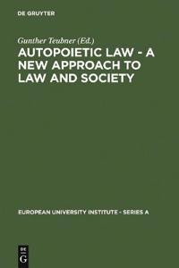 Autopoietic Law
