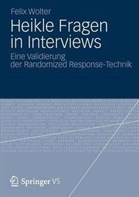 Heikle Fragen in Interviews