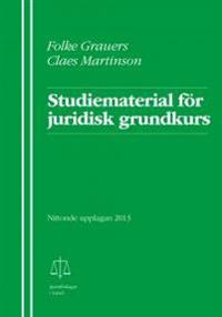 Studiematerial för juridisk grundkurs