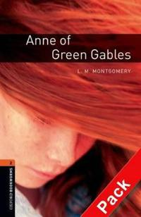 Oxford Bookworms Library: Level 2:: Anne of Green Gables audio CD pack
