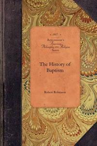 History of Baptism