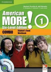 American More! Six-Level Edition Level 1 Combo with Audio CD/CD-ROM