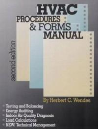 Hvac Procedures and Forms Manual