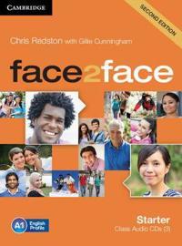 Face2face Starter Class Audio CD's