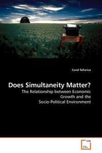Does Simultaneity Matter?