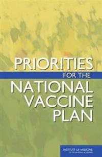 Priorities for the National Vaccine Plan