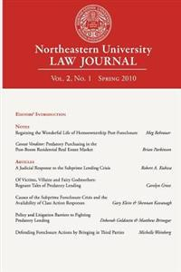 Northeastern University Law Journal: Volume 2, Number 1