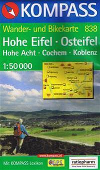 HOHE EIFEL 838 GPS KOMPASS OSTEIFEL