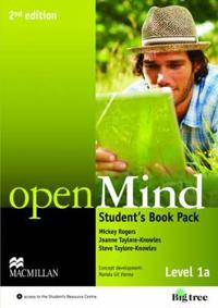 openMind 2nd Edition AE Level 1A Student's Book Pack