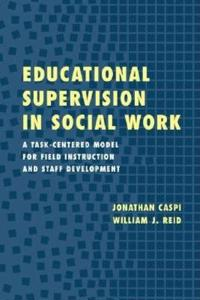 Educational Supervision in Social Work