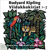 Viidakkokirjat 1-3 (3 cd-levyä)