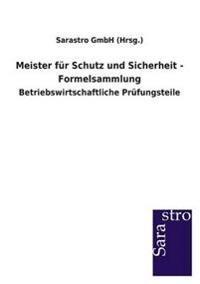 Meister Fur Schutz Und Sicherheit - Formelsammlung