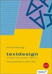 Textdesign erfassen und layouten. Bd. 1