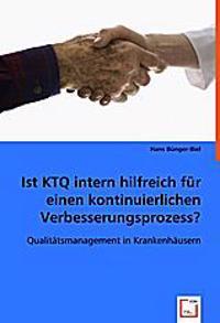 Ist KTQ intern hilfreich für einen kontinuierlichen Verbesserungsprozess?