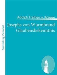 Josephs Von Wurmbrand Glaubensbekenntnis