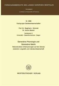 Generative Phonologie Und Generative Metrik