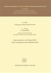 Approximation Und Interpolation Durch Verallgemeinerte Abtastsummen
