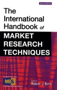 The International Handbook of Market Research Techniques