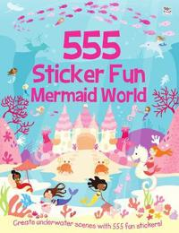 555 sticker fun mermaid world