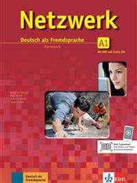 Netzwerk A1  - Kursbuch mit 2 Audio-CDs und DVD