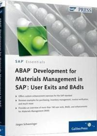 Abap Development for Materials Management in Sap