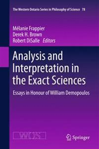 Analysis and Interpretation in the Exact Sciences