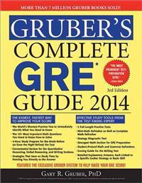 Gruber's Complete GRE Guide 2014, 3e