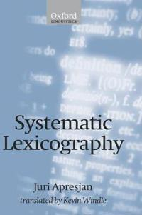 Systematic Lexicography
